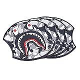 ドアノブ傷防止 フィルム ドアハン ドルプロテクター 対応 ドアハンドルプロテクションフィルム 4枚セット (灰色の嘴怪)