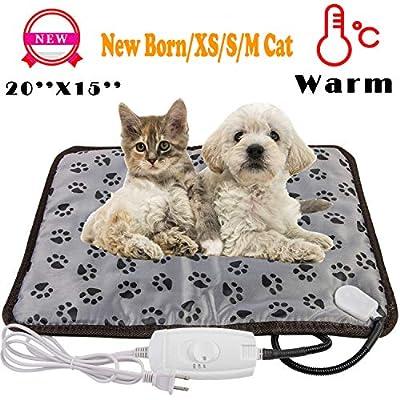 wangstar X-Large Pet Heating Pad  Pet Heated Bl...