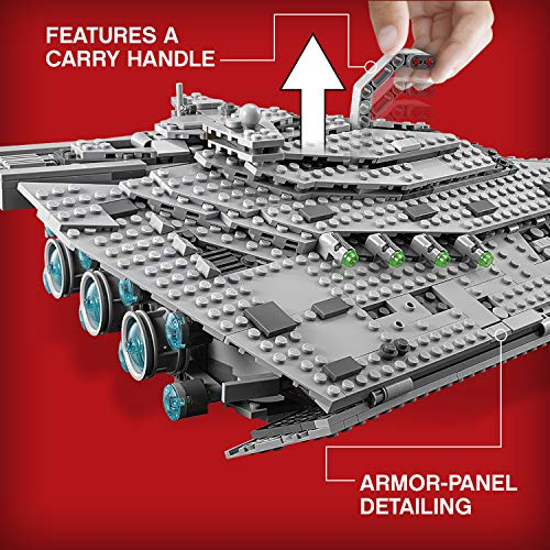 LEGO Star Wars Croiseur Premier Ordre Star Destroyer First Order 75190 - 1416 Pièces - 4