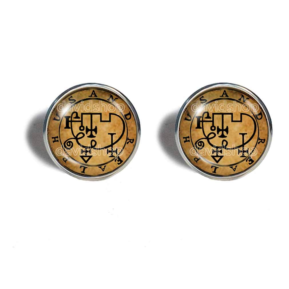 Seal Sigil Of Popular brand in the world Andrealphus Earrings Ear Less Cuff Fashion Jewelry Ranking TOP15
