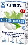 BodyMedica Kalorien Blocker 2 in 1, Reduziert die Kalorienaufnahme aus Fetten und Kohlenhydraten zur Behandlung von Übergewicht und Adipositas, unterstützt die Gewichtsabnahme, 1 x 20 Tabletten