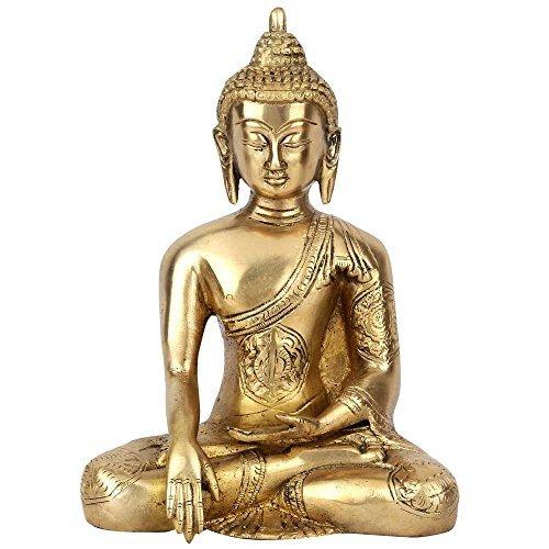 Statuestudio Earth Touching Buddha Sitting Statue