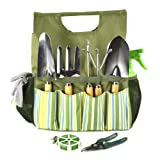 Plant Theatre Essential Garden Tool Bag - Includes <span class='highlight'>Tools</span> for the Gardener