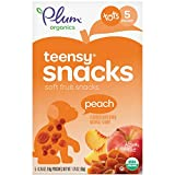Plum Organics Teensy Fruits, Peach, 1.75 Ounce (Pack of 8)