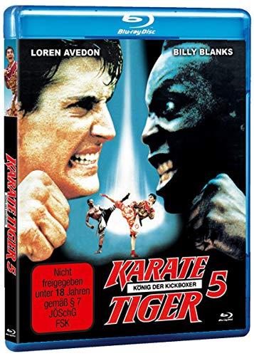 Karate Tiger 5 - König der Kickboxer - Uncut [Blu-ray]