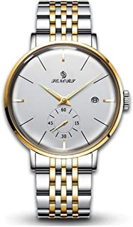 Men's Japanese Automatic Movement Watch Stainless Steel Strap Watches