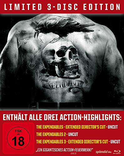 Produktbild von The Expendables Trilogy - Limited Steelbook/Uncut [Blu-ray]