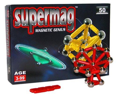 Plastwood - Gioco di Costruzioni magnetiche Supermag 50