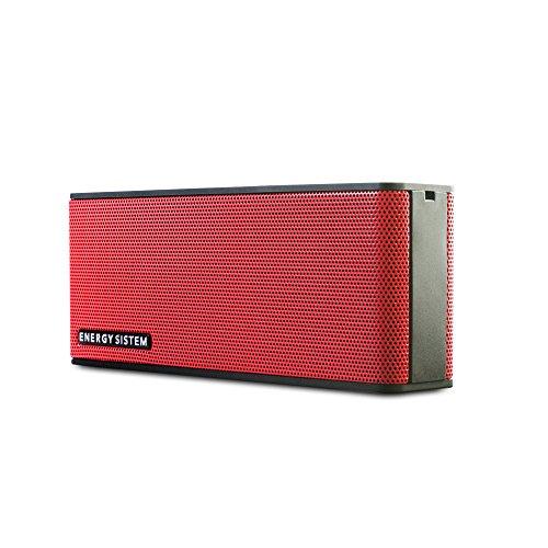 Energy Sistem Music Box B2 Altavoz portatil Bluetooth (Bluetooth, Entrada de Audio, Manos Libres, Batería de Larga duración)- Rojo Coral
