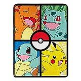 Franco Pokemon Throw Blanket 46 x 60 Inches