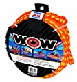 WOW World of Watersports, 11-3010, Tow Rope up to 4 Riders, 60 Feet, 4100 Pounds Break Strength, Floating Foam Buoys – Heavy Duty Rope