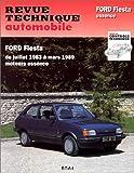 E.T.A.I - Revue Technique Automobile 449.4 - FORD FIESTA I - 1976 à 1989