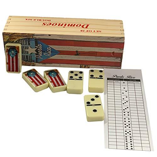 Puerto Rico Domino Set San Juan Doors Includes Score pad