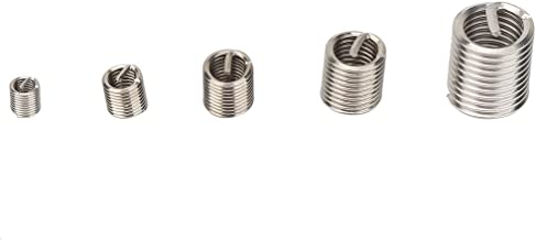 Inserção de fio de fio, kit de inserção de reparo de fio, 116 unidades/conjunto para aparelhagem de alta tensão Comunicaçã...