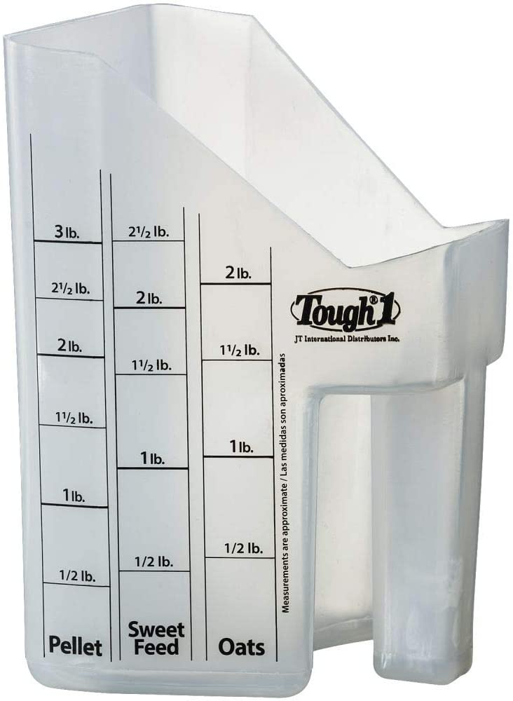 Tough-1 67% OFF of fixed price Clear Equine Livestock Omaha Mall Food Oats Sweet Grain Pellet Feed