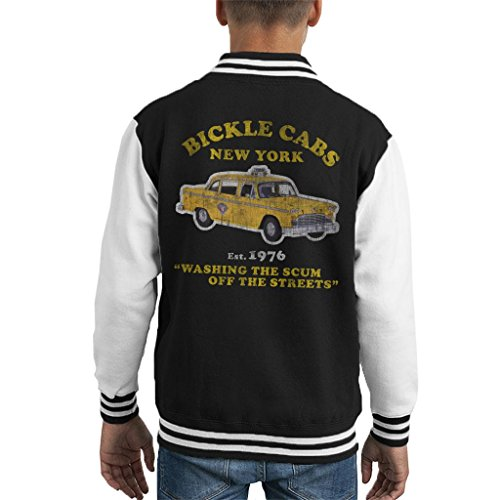 Cloud City 7 Taxi Driver Bickle Cabs Kid's Varsity Jacket