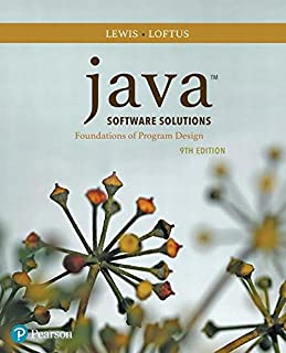 Java Software Solutions (9th Edition)