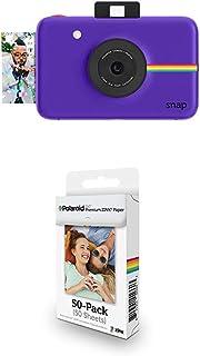 Polaroid Snap - Cámara Digital instantánea púrpura + Paquete de 50 Hojas