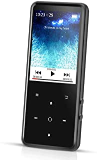 AGPTEK C2 8GB Bluetooth 4.0 MP3 Player with 2.4 Inch TFT Color Screen, FM/Voice Recorder Lossless Sound Metal Music Playe...