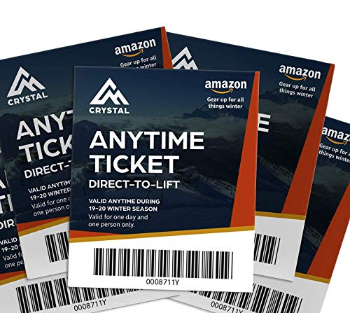 Crystal Mountain 5-Day Anytime Lift Ticket (Renewed)