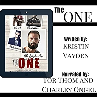 The One                   By:                                                                                                                                 Kristin Vayden                               Narrated by:                                                                                                                                 Tor Thom,                                                                                        Charley Ongel                      Length: 6 hrs and 35 mins     41 ratings     Overall 4.5
