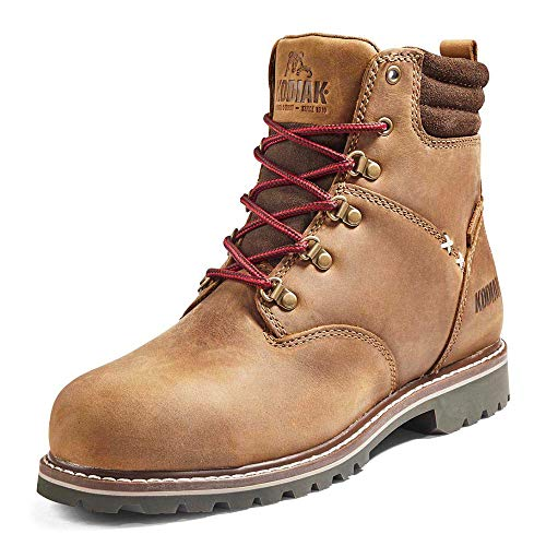 Kodiak Women's 6-Inch Bralorne Composite Toe Waterproof Industrial Boot, Medium Brown, 9
