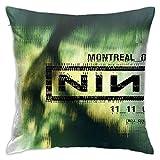 N / A Nine Inch Nails Concert Posters Printed Kissenbezug