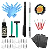 Wormhole Tattoo Stick and Poke Tattoo Kit Tattoo Needles Microblading Pen Clean & Safe Stick & Poke Tattoos for Tattoo Supply(TK094)