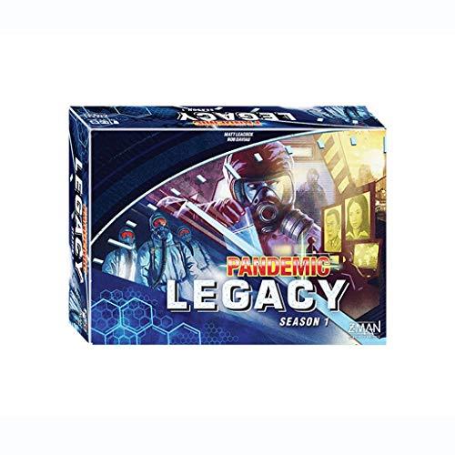 DEF Pandemic Legacy Temporada 1 Juego de Mesa de Juego, Juego de...