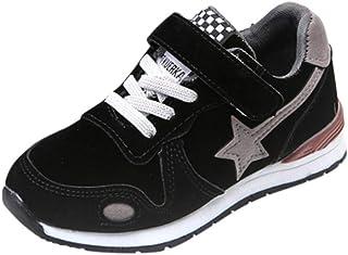 9a15ddc04ae69 ELECTRI Garçon Fille Chaussure de Course Loisirs Chaussures de Sports Star  Mesh Sneakers Baskets Running pour