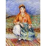 Renoir Algerian Girl Art Print Canvas Premium Wall Decor