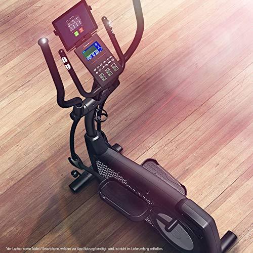 Sportstech Ergomètre CX2 | avec générateur d'électricité | avec pré-Montage | Événements vidéo et Applications multijoueurs | Vélo d'appartement avec Support de Table intégré | qualité Allemande