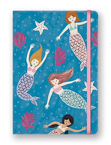 Studio Oh. Stacy h. Kim Hardcover Compact Deconstructed Journal, Mermaid Tales (DK005)