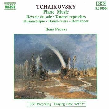 TCHAIKOVSKY: Piano Music (Prunyi)