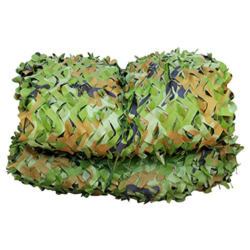 GXING Woodland Camouflage Net, Bulk Roll Camo Net Military Set, Theme Party Decoration, Car Covers Camouflage Netting