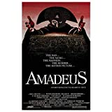 Tin Sign Classic Amadeus Horror Movie Poster Retro Metal Decoration Bar Club People Cave Wall Decoration 8x12 Inches