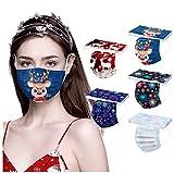 mαsks Adulto Mujer Hombre Industrial 3Ply 10PC bufandas mujer largas invierno ofertas con broche desigual