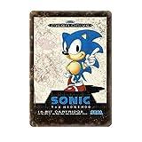 Sega 16-Bit Sonic The Hedgehog Mega Drive 19,8 x 30 cm Bar