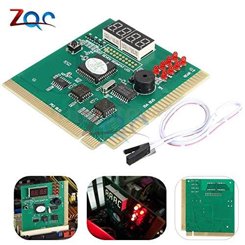 Pantalla LCD de 4 dígitos Analizador de PC Tarjeta de diagnóstico Placa base Post tester Análisis de computadora Tarjeta PCI Herramientas de red