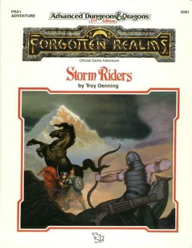 Fra1 Storm Riders Module (Advanced Dungeons and Dragons/Fra1) by Troy. Denning (1990-05-06)