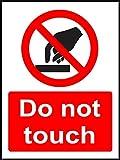 INDIGOS UG - Adhesivo de seguridad - Advertencia -...