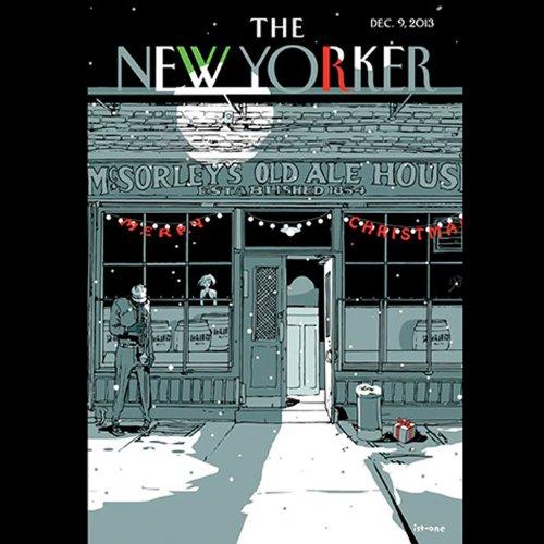 The New Yorker, December 9nd 2013 (Douglas Starr, Jeffrey Toobin, James Wood) cover art