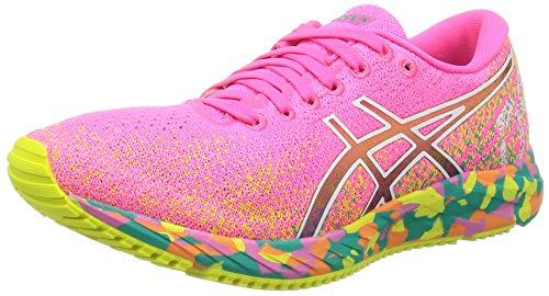 Asics Gel-DS Trainer 26, Road Running Shoe Mujer, Hot Pink/Sour Yuzu, 44 EU