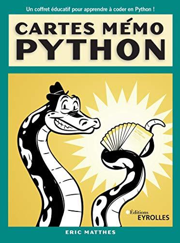 Cartes mémo Python: Synthaxe, concepts et exemples (Pour les kids)