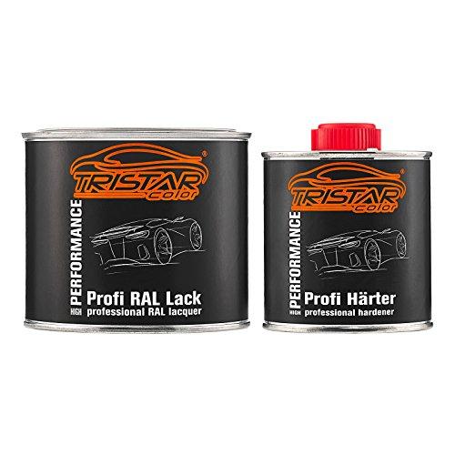 TRISTARcolor RAL 9005 Tiefschwarz 2K Autolack glänzend 0,75 Liter / 750 ml Dose inkl. Härter