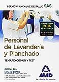 Personal de Lavandería y Planchado del Servicio Andaluz de Salud. Temario común y test
