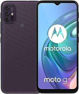 "Moto G10 (128GB, 4GB) 6.5"" HD+, 5000mAh Battery, 48MP Quad Rear Camera, Dual SIM GSM Global Unlocked 4G LTE (T-Mobile, AT&..."