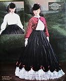 McCall's Civil War Era Pattern Design 4339. Misses Szs 14;16;18;20 Bolero Jacket; Blouse; Collar; Skirt; & Petticoat