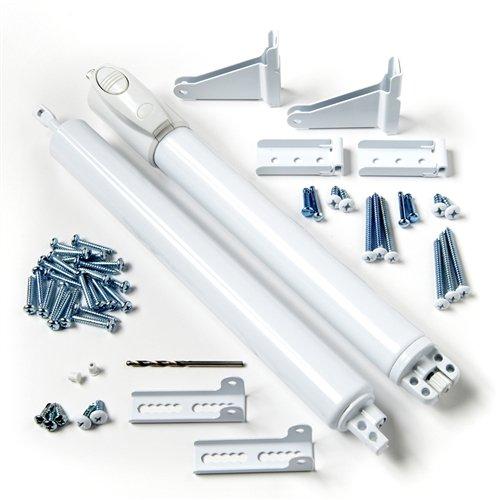 Andersen Storm Door Top and Bottom Closer Kit in White Color