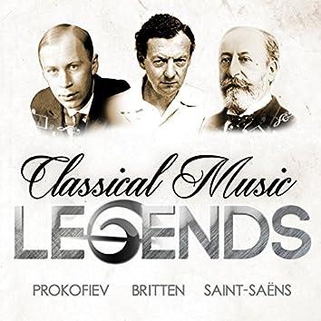 Classical Music Legends - Prokofiev, Britten and Saint-Saëns